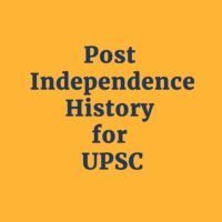 History Course: Post Independence by Zia Khan